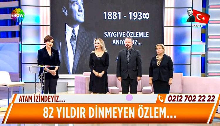Didem Arslan Yılmaz la Vazgeçme Atatürk ü Anma 10 Kasım