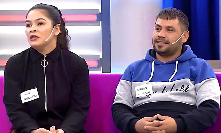 Özde Kurusıkı Eşi Orhan Kurusıkı ile Didem Arslan Yılmaz'la Vazgeçme Programında DNA Sonucunu Bekliyor