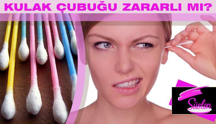 Kulağı Pamuklu Çubuk İle Temizlemek Zararlı mı