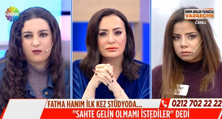 Fatma Demir Studyoda