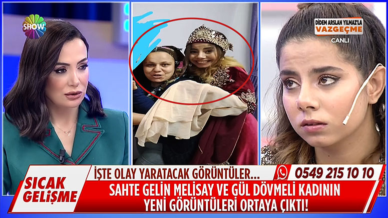 Sahte Gelin Melisay Gül Dövmeli Kadın